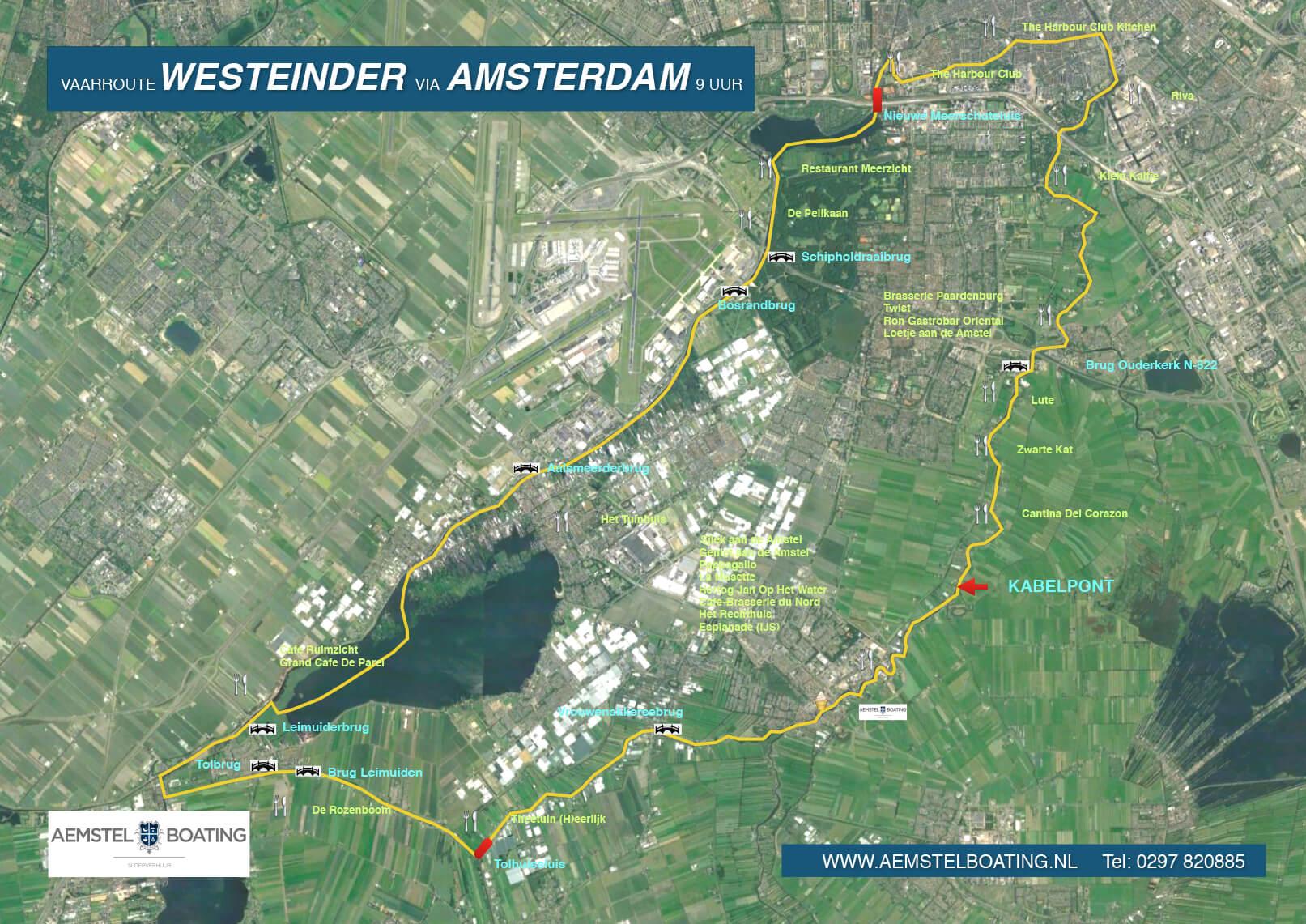 AemstelBoating_Vaarroute_Amstel_Westeinder