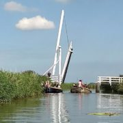 Fietsbrug over de Waver